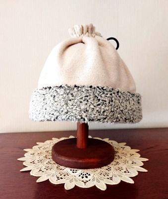 エコファー作品その11~ウールの帽子~_b0194861_18010076.jpg