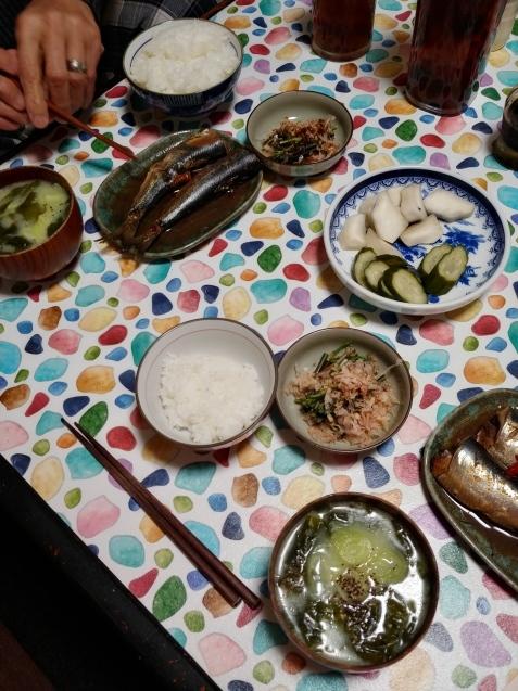 いわし煮定食_c0162773_19015081.jpg
