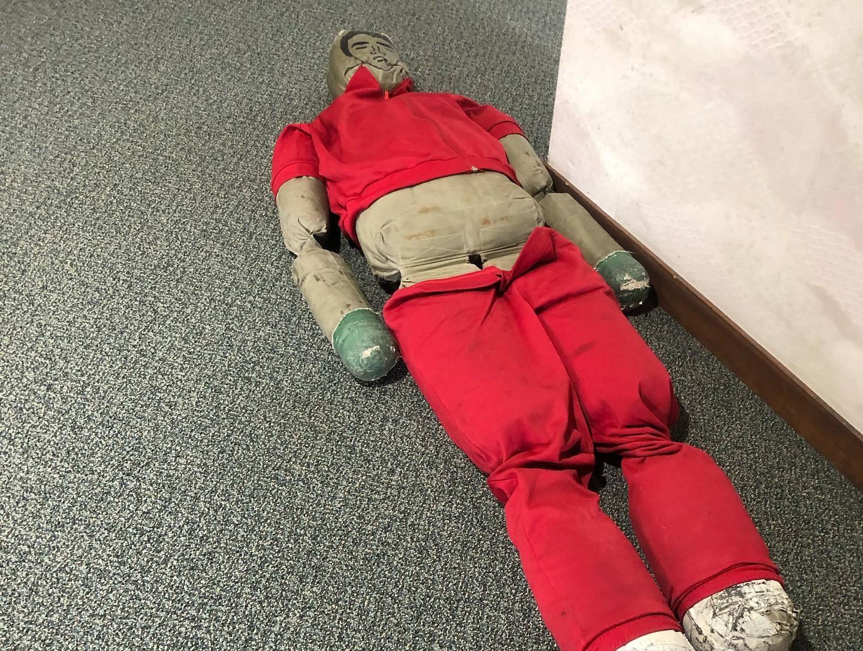 避難訓練と消防訓練_d0182179_16391751.jpg