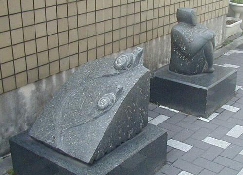 ●吉本豊の野外彫刻、その7_d0053294_14054519.jpg