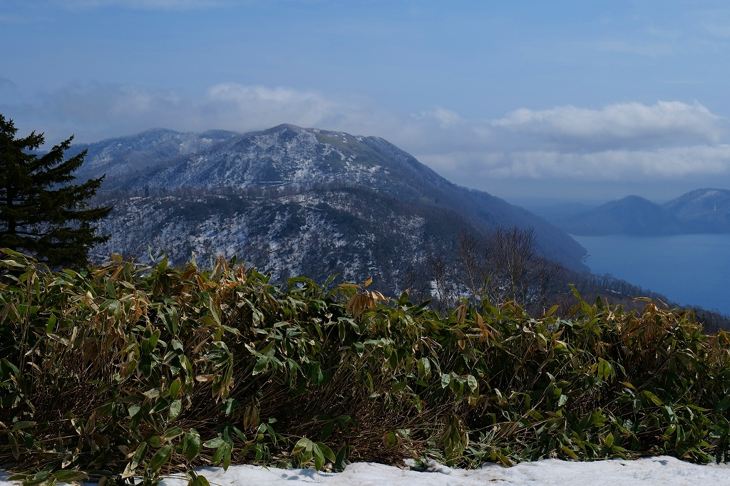 霧氷のイチャンコッペ山、2021.4.7_f0138096_21331122.jpg