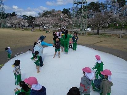 ゆり・すみれ組 お花見に行きました♪_c0212598_16142639.jpg