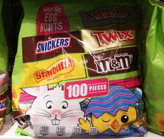 イースターにちなんだお菓子の特設コーナー_b0007805_21514413.jpg