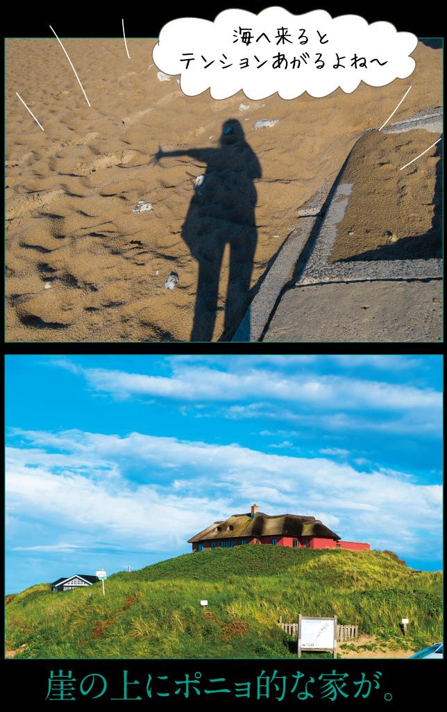 デンマーク一人旅☆2019その3 北海へ行く_a0358016_14264714.jpg
