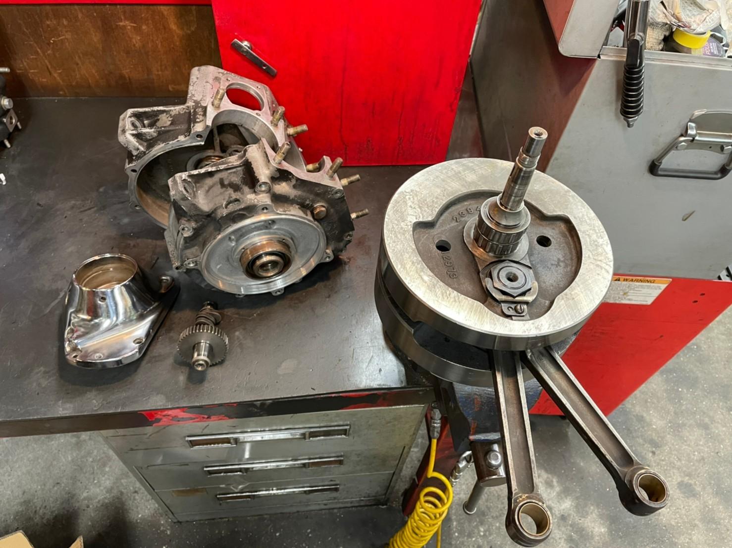\'73 Shovel Rigid エンジンオーバーホール & カスタム_b0160319_16190232.jpg
