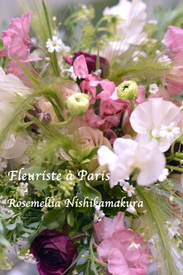 3月パリのお花屋さんブーケ_d0078355_18421129.jpg