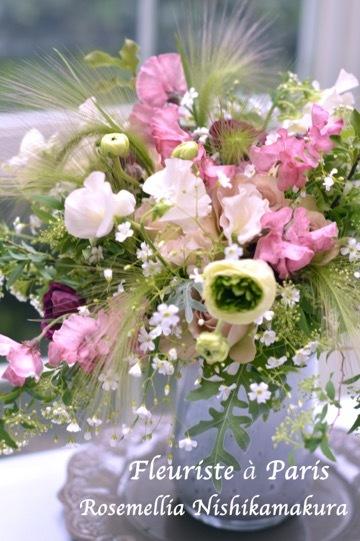 3月パリのお花屋さんブーケ_d0078355_18423537.jpg