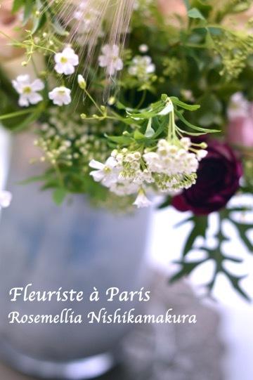 3月パリのお花屋さんブーケ_d0078355_18425357.jpg