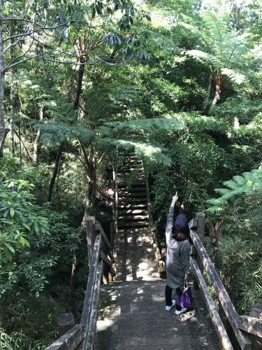 Walk around in Yomitan with my dear friend._c0153966_16301236.jpeg
