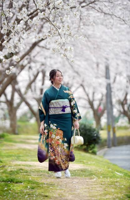 桜の木の下撮影が一番にいい感じで出来たのは....._b0194185_18150735.jpg