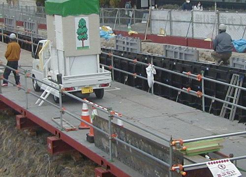 ●渡月橋上流左岸河道整備、その27_d0053294_13202039.jpg
