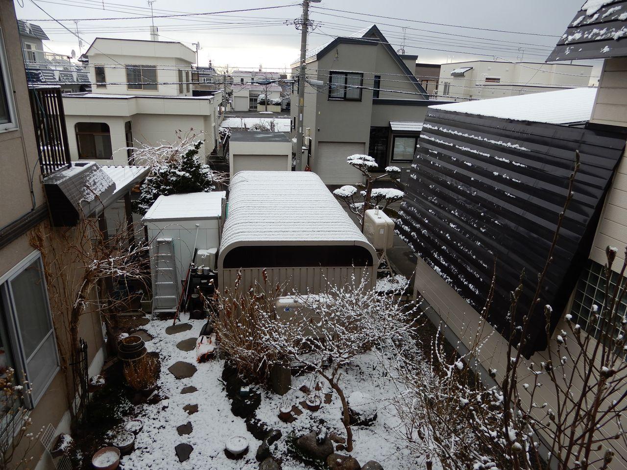 朝だけ戻ってきた冬景色_c0025115_21263584.jpg