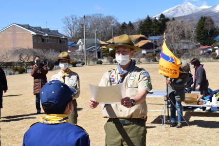 【カブ隊】3月隊集会(卒隊式)_c0221521_07461412.jpg