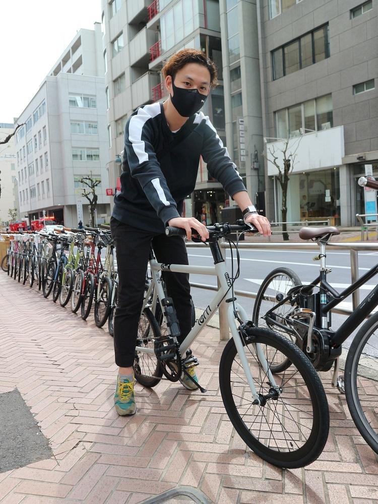 4月9日 渋谷 原宿 の自転車屋 FLAME bike前です_e0188759_18223700.jpg