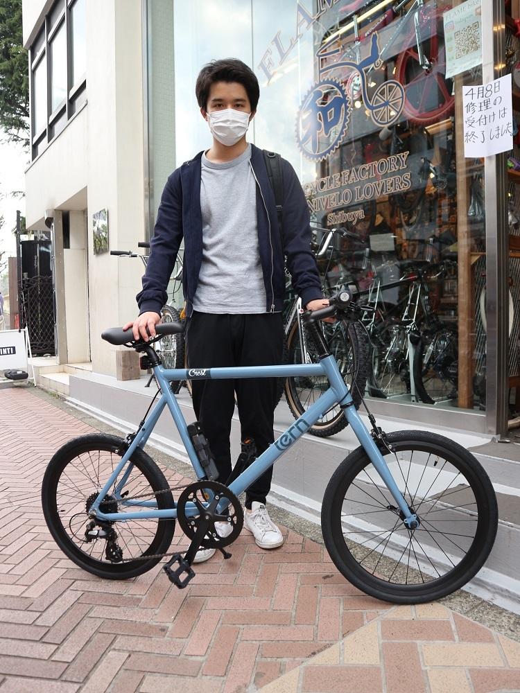 4月9日 渋谷 原宿 の自転車屋 FLAME bike前です_e0188759_18224279.jpg