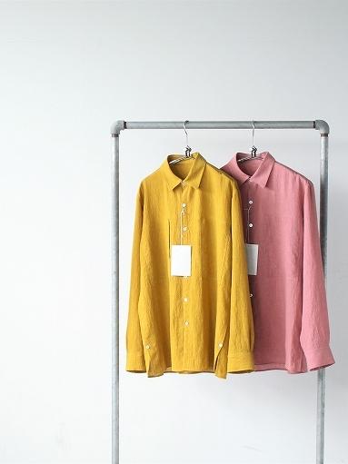Cale Water Twist Linen Shirt_b0139281_20591650.jpg
