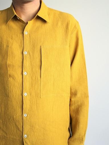Cale Water Twist Linen Shirt_b0139281_21004305.jpg