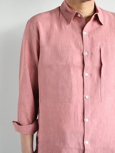 Cale Water Twist Linen Shirt_b0139281_21004321.jpg