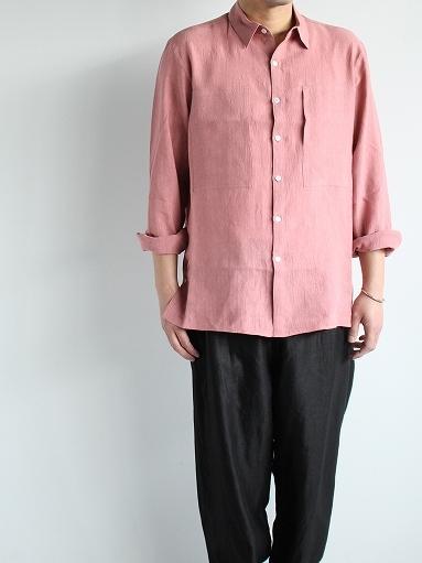 Cale Water Twist Linen Shirt_b0139281_21004421.jpg