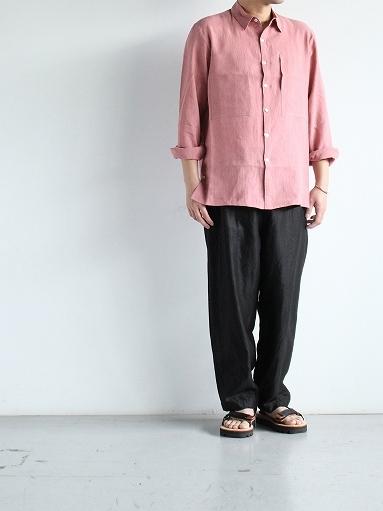 Cale Water Twist Linen Shirt_b0139281_21015622.jpg