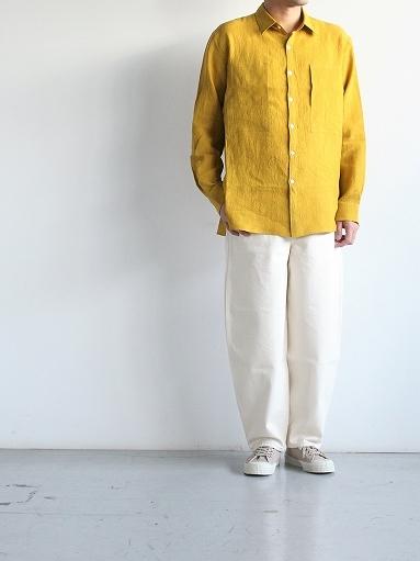 Cale Water Twist Linen Shirt_b0139281_21015643.jpg