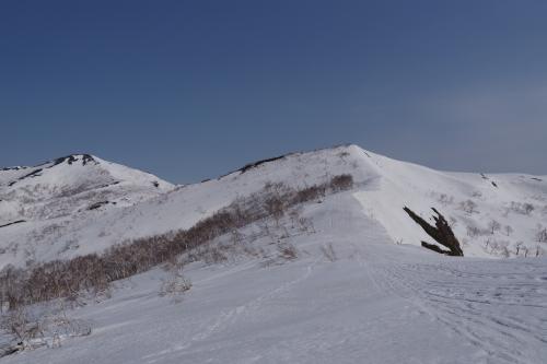 ポカポカ陽気の浜益岳_d0198793_12532483.jpg
