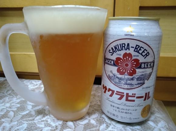 4/10 サクラビール、Takara焼酎ハイボール前割りレモン、日本一の焼き鳥、テーブルマークの冷凍たこ焼@自宅_b0042308_21595023.jpg