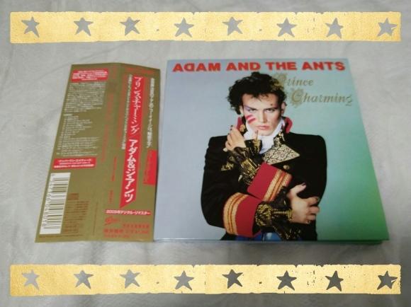 発掘その284 ADAM AND THE ANTS / PRINCE CHARMING 紙ジャケット_b0042308_22120295.jpg