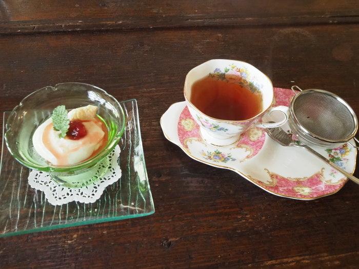 Cafe 花音で、ティータイム♪_c0116915_01110575.jpg