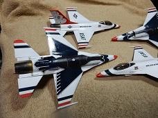 Monogram 1/72 USAF Thunderbirds 製作 2_a0350883_00374581.jpg