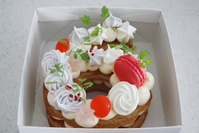 ミルフィーユ仕立てのナンバーケーキ_d0339705_15285088.jpg
