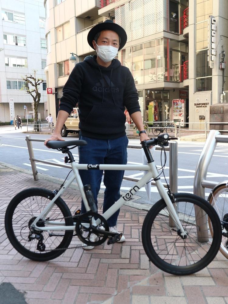 4月11日 渋谷 原宿 の自転車屋 FLAME bike前です_e0188759_15565702.jpg