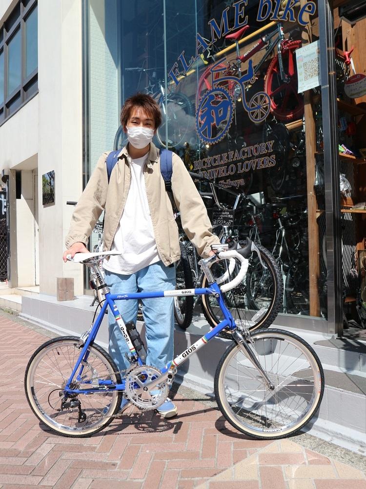 4月11日 渋谷 原宿 の自転車屋 FLAME bike前です_e0188759_15570049.jpg