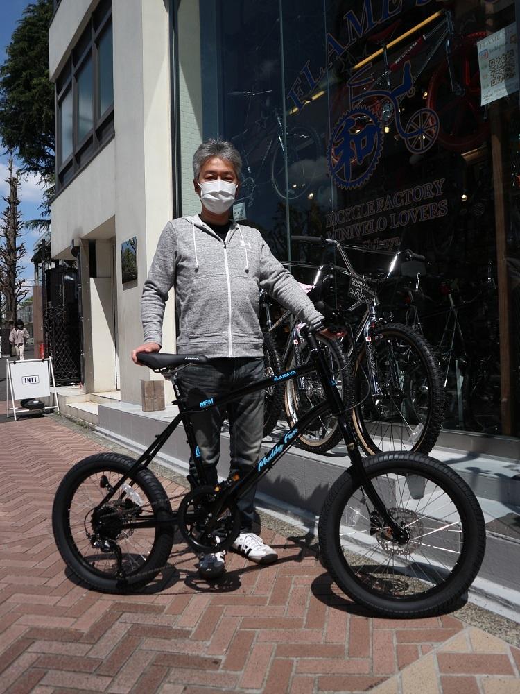 4月11日 渋谷 原宿 の自転車屋 FLAME bike前です_e0188759_15570286.jpg