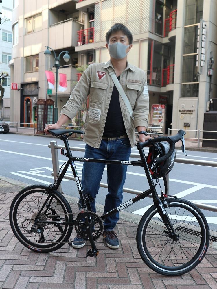 4月11日 渋谷 原宿 の自転車屋 FLAME bike前です_e0188759_15571698.jpg
