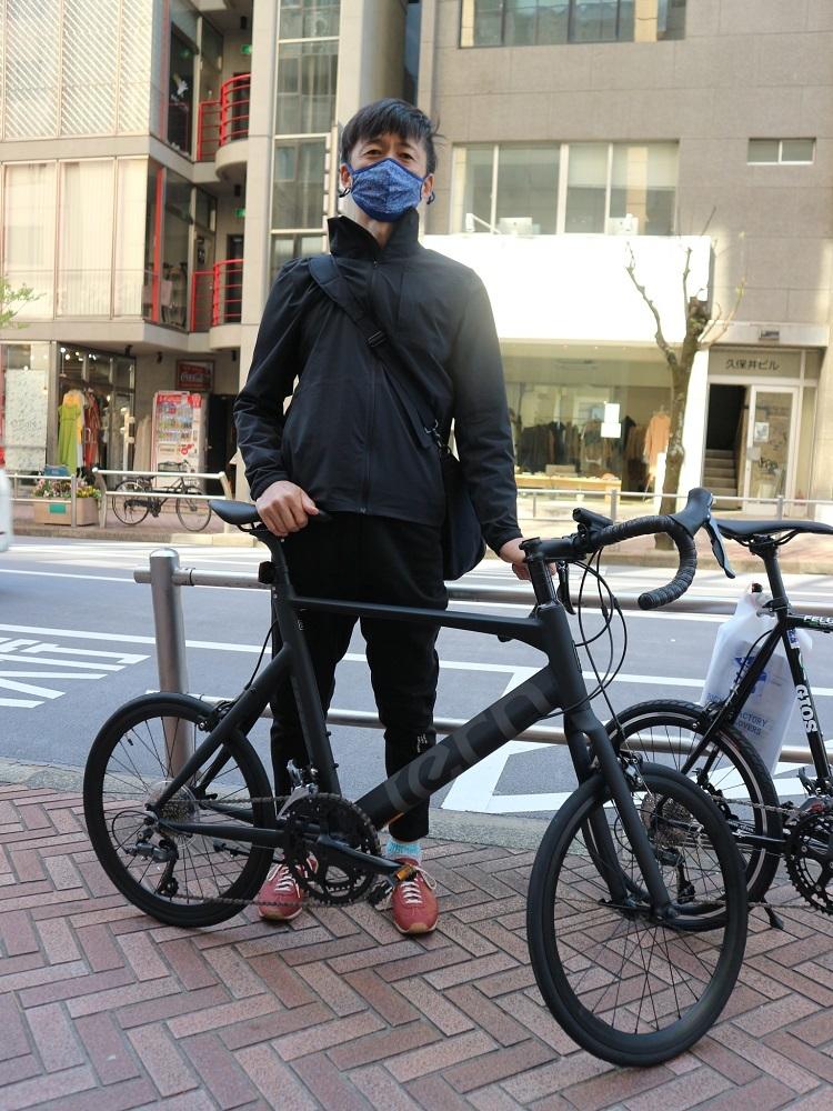 4月11日 渋谷 原宿 の自転車屋 FLAME bike前です_e0188759_15571818.jpg