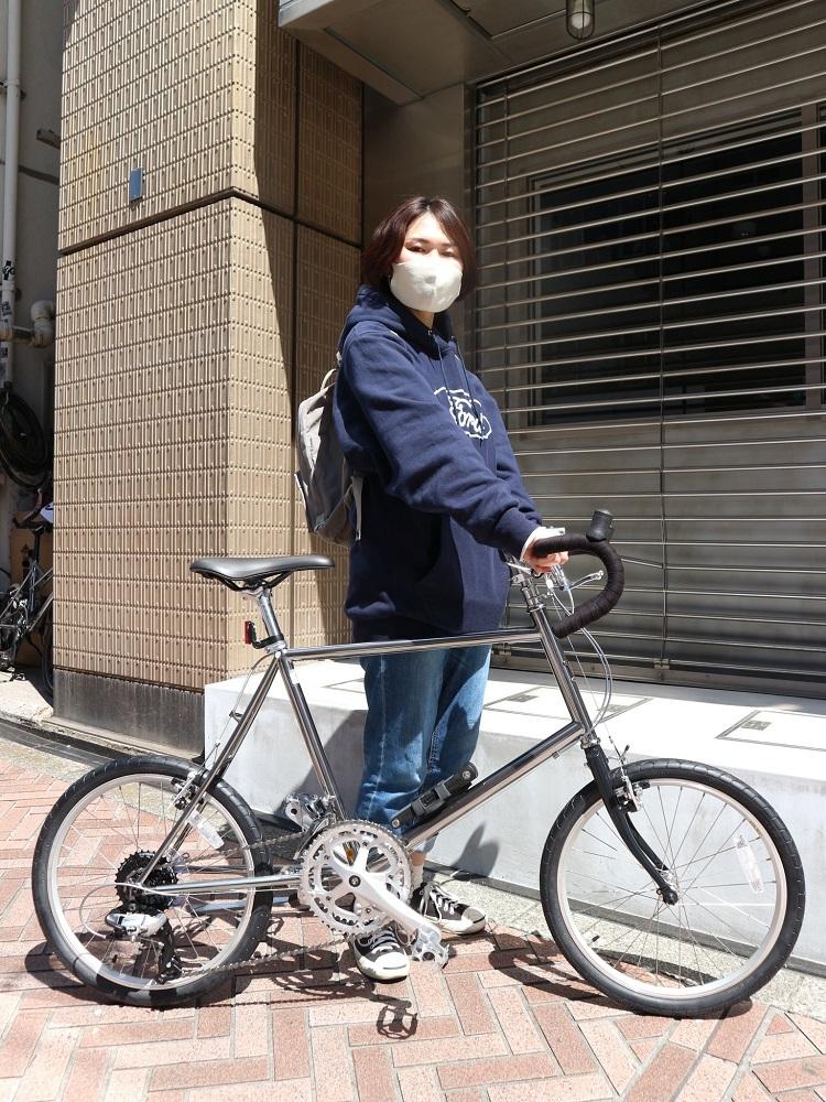 4月11日 渋谷 原宿 の自転車屋 FLAME bike前です_e0188759_15572405.jpg