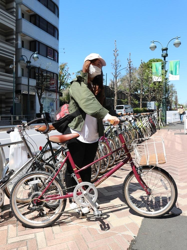 4月11日 渋谷 原宿 の自転車屋 FLAME bike前です_e0188759_15572640.jpg