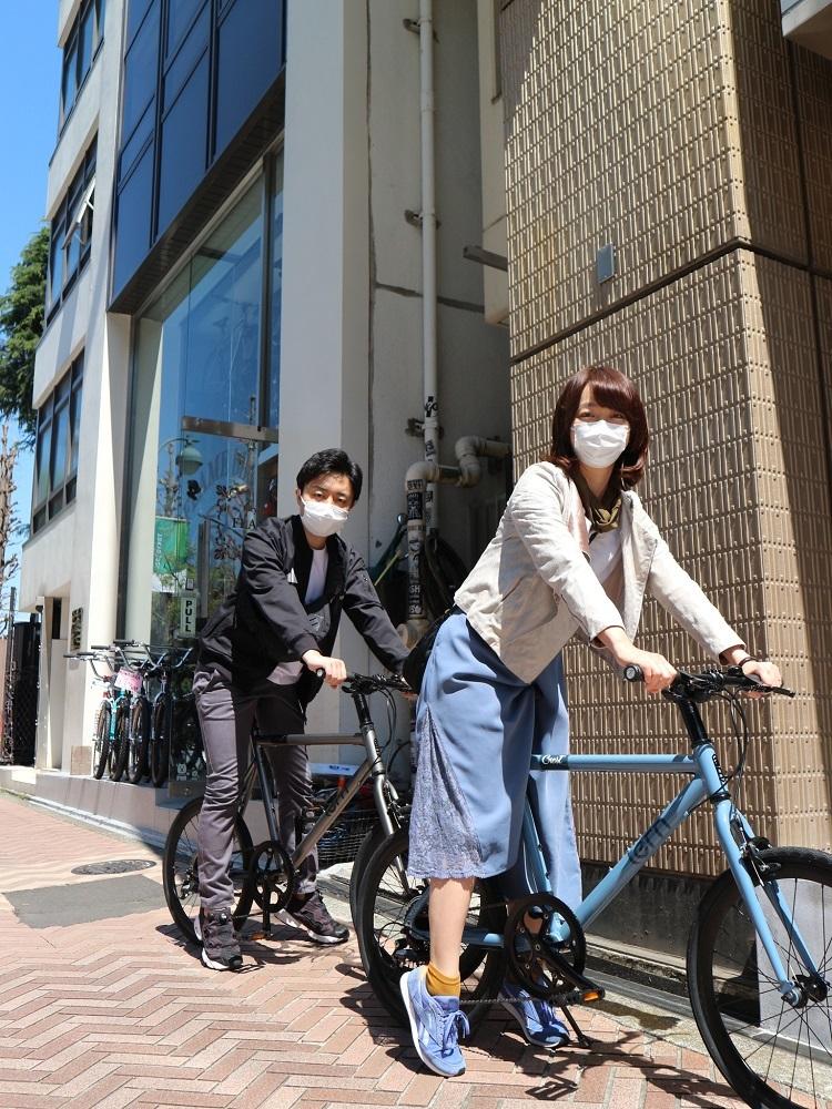 4月11日 渋谷 原宿 の自転車屋 FLAME bike前です_e0188759_15572951.jpg