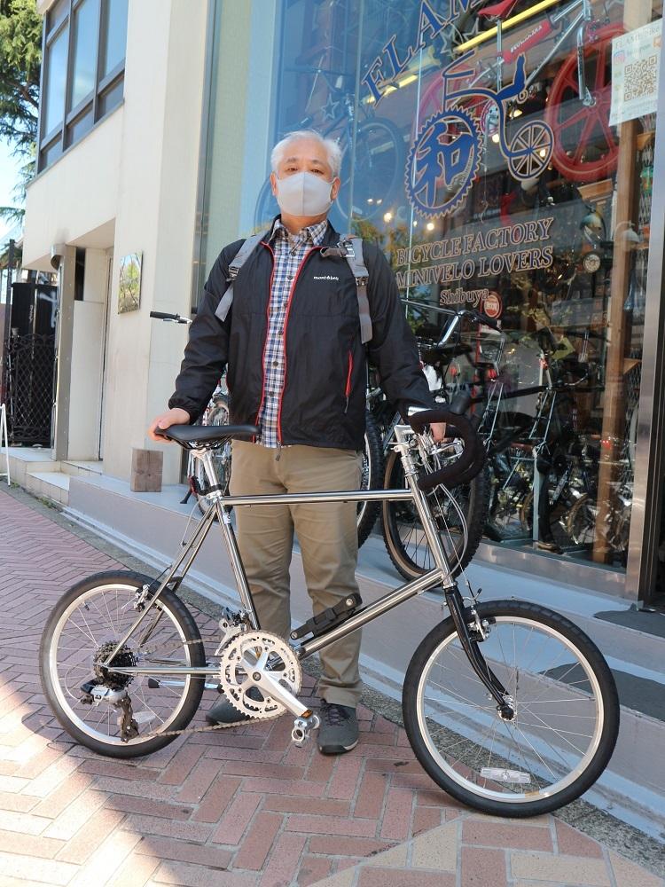 4月11日 渋谷 原宿 の自転車屋 FLAME bike前です_e0188759_15573293.jpg