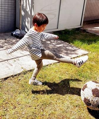 エコファー作品その12~サッカーボール~_b0194861_18313445.jpg
