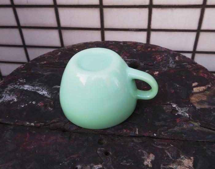 50\'s Fire King Jade-ite Narrow Rim Cup_e0187362_12231232.jpg