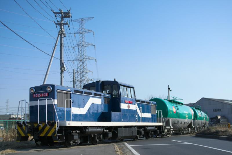2013 3 5 仙台臨海鉄道 SD55105 354レ_b0406689_19230007.jpg