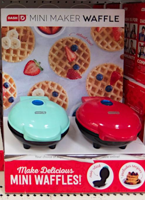 コロナ禍の米国で売れてる調理器具・調理家電と言えば… ミニ・ワッフル・メーカー(Mini Waffle Maker)?!_b0007805_21481864.jpg
