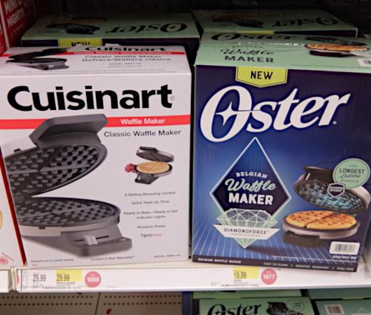 コロナ禍の米国で売れてる調理器具・調理家電と言えば… ミニ・ワッフル・メーカー(Mini Waffle Maker)?!_b0007805_21483124.jpg