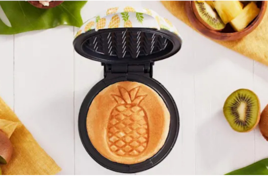 コロナ禍の米国で売れてる調理器具・調理家電と言えば… ミニ・ワッフル・メーカー(Mini Waffle Maker)?!_b0007805_21484622.jpg