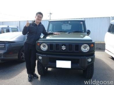祝☆納車 JB64Wジムニー お買い上げありがとうございます(^▽^)o_c0213517_11473534.jpg