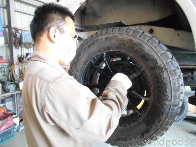 JB23Wジムニークロスアドベンチャー 車検整備中(^-^)_c0213517_15332283.jpg