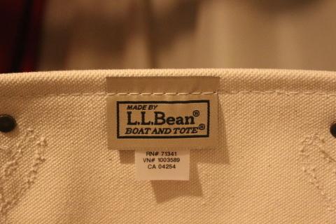 """「L.L.Bean」 今も昔も変わらず作り続ける \""""レザーハンドルトート\"""" ご紹介_f0191324_08485775.jpg"""