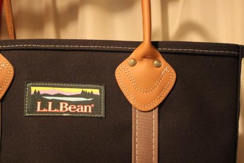"""「L.L.Bean」 今も昔も変わらず作り続ける \""""レザーハンドルトート\"""" ご紹介_f0191324_08494009.jpg"""